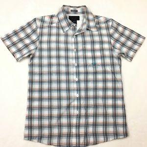 Oakley Short Sleeve Button Down Shirt Size Sm